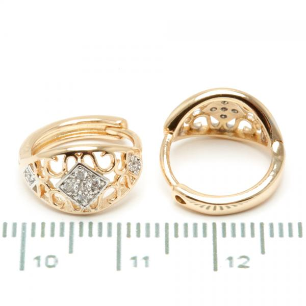 Сережки XUPING Gold 510272