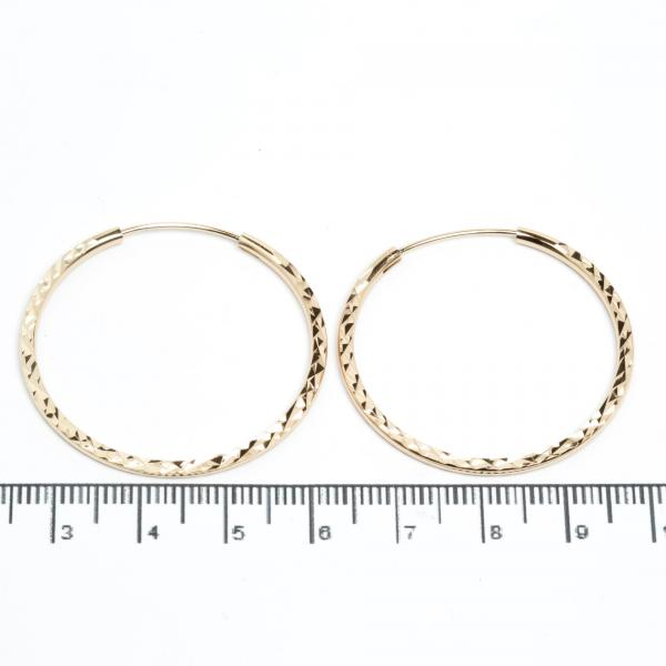 "Сережки XUPING Gold ""Ø 3.6 см."" 511408"
