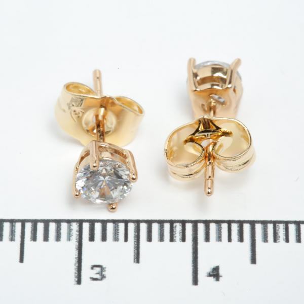 "Сережки XUPING Gold ""Ø 0.5 см."" 511573"